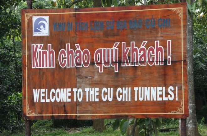 One day in Cuchi Tunnels