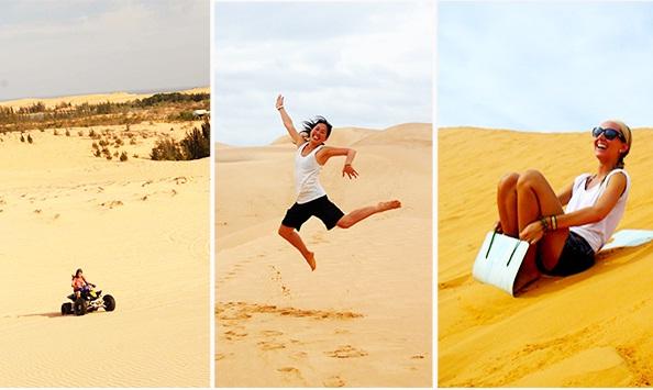Enjoy in Muine Sand Dunes