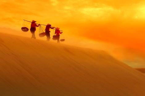 Sand Dunes in Muine