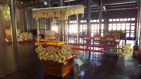 Artifacts in Hue Royal Antiquities Museum