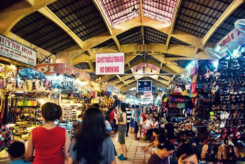 ben thanh market shopping
