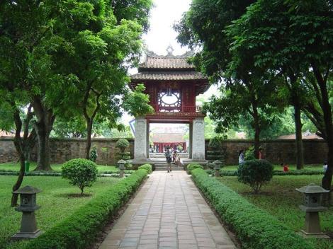 Temple of Literature, Ha Noi