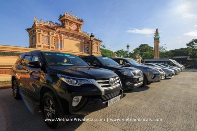 Dalat to Saigon by private car